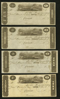 Obsoletes By State:Ohio, Cincinnati, OH- Unknown Issuer $1; $2; $3; $5 18__ Remainders Wolka0653-01; -02; -03; -04. ... (Total: 4 notes)
