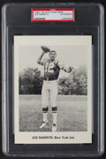 Football Collectibles:Photos, 1965-66 Joe Namath Team Issue Picture Pack Photograph - PSA Authentic. ...