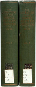 Books:Reference & Bibliography, [Bibliography]. Ralph Leslie Rusk. The Literature of the MiddleWestern Frontier. New York: Columbia, 1926. Second p... (Total:2 Items)