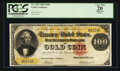Large Size:Gold Certificates, Fr. 1212 $100 1882 Gold Certificate PCGS Apparent Very Fine 20.....