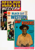 Golden Age (1938-1955):Western, Golden Age Low Grade Western Group (Various Publishers, 1950s) Condition: Average GD/VG.... (Total: 24 Comic Books)
