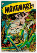 Golden Age (1938-1955):Horror, Nightmare #13 (St. John, 1954) Condition: GD....