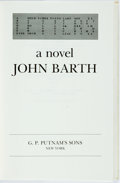 Books:Literature 1900-up, John Barth. SIGNED/LIMITED. Letters. New York: Putnam's,1979. First edition, limited to 500 numbered copies. Sign...