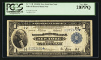Fr. 713* $1 1918 Federal Reserve Bank Note PCGS Very Fine 20PPQ