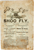 Books:Americana & American History, [Americana] [Periodical]. The Shoo Fly, No. 3. May 10, 1870.Featuring the first couple of chapters of novels by...