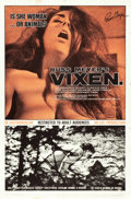 "Movie Posters:Sexploitation, Vixen! (Eve Productions, 1968). Autographed One Sheet (27"" X 41"")....."