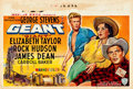 """Movie Posters:Drama, Giant (Warner Brothers, 1956). Belgian (15"""" X 21.75"""").. ..."""