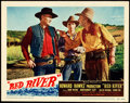 "Movie Posters:Western, Red River (United Artists, 1948). Lobby Card (11"" X 14"").. ..."