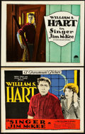 "Movie Posters:Western, Singer Jim McKee (Paramount, 1924). Title Lobby Card & LobbyCard (11"" X 14"").. ... (Total: 2 Items)"