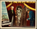 """Movie Posters:Horror, House of Frankenstein (Universal, 1944). Lobby Card (11"""" X 14"""").. ..."""