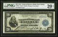 Large Size:Federal Reserve Bank Notes, Fr. 828 $20 1915 Federal Reserve Bank Note PMG Very Fine 20 Net.. ...