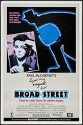 "Movie Posters:Rock and Roll, Give My Regards to Broad Street (20th Century Fox, 1984). One Sheet(27"" X 41"") Style B. Rock and Roll.. ..."