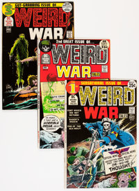 Weird War Tales Group (DC, 1971-75) Condition: Average VF.... (Total: 5 Comic Books)