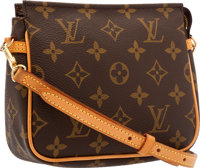Louis Vuitton Classic Monogram Canvas Crossbody Bag