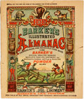 Books:Americana & American History, [Almanac]. Barker's Illustrated Almanac for 1919. 1919.Original colorful printed wrappers. Hanging string lacking. ...
