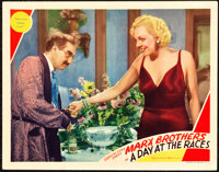 """A Day at the Races (MGM, 1937). Lobby Card (11"""" X 14"""")"""