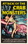 "Movie Posters:Science Fiction, Attack of the Crab Monsters (Allied Artists, 1957). One Sheet (27""X 41.5"").. ..."