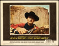 """Movie Posters:Western, The Searchers (Warner Brothers, 1956). Lobby Card (11"""" X 14"""").. ..."""