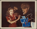 "Movie Posters:Horror, The Wolf Man (Realart, R-1948). Lobby Card (11"" X 14"").. ..."