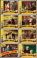 "Movie Posters:Action, Superman and the Mole Men (Lippert, 1951). Lobby Card Set of 8 (11"" X 14"").. ... (Total: 8 Items)"
