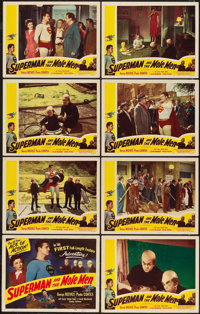 "Superman and the Mole Men (Lippert, 1951). Lobby Card Set of 8 (11"" X 14""). ... (Total: 8 Items)"