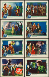 "The Man from Planet X (United Artists, 1951). Lobby Card Set of 8 (11"" X 14""). ... (Total: 8 Items)"