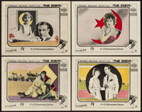 """The Sheik (Paramount, 1921). Lobby Cards (4) (11"""" X 14""""). ... (Total: 4 Items)"""