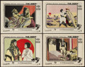 "Movie Posters:Romance, The Sheik (Paramount, 1921). Lobby Cards (4) (11"" X 14"").. ...(Total: 4 Items)"