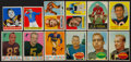 Football Cards:Lots, 1948 - 1960 Topps, Bowman & Leaf Football Collection (89) With Many Stars & HoFers. ...