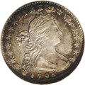 Early Half Dimes: , 1796 H10C AU53 NGC. V-1, LM-1, R.3. The LIKERTY variety with weakloops on the B that give the appearance of an erroneous K...