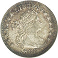 Early Half Dimes: , 1800 H10C MS61 NGC. V-1, LM-1, R.3. All four digits in the date areequally spaced on this variety, and the first star is l...