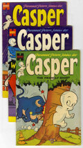 Golden Age (1938-1955):Cartoon Character, Casper the Friendly Ghost Group (Harvey, 1954-72) Condition:Average VG.... (Total: 4 Comic Books)