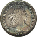 Early Dimes: , 1796 10C --Repaired--ANACS. VF20 Details. JR-4, R.4. TY touch onthis variety, and star 1 is far from the curls. On the reve...