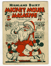 Mickey Mouse Magazine V2#2 (Walt Disney Productions, 1934) Condition: VG