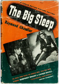 Books:Mystery & Detective Fiction, [Movie Tie-In Edition]. Raymond Chandler. The Big Sleep.World Publishing, 1946. Forum Motion Picture edition. Publi...