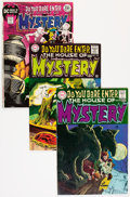 Bronze Age (1970-1979):Horror, House of Mystery Group (DC, 1968-82) Condition: Average VF....(Total: 12 Comic Books)