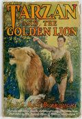 Books:Science Fiction & Fantasy, [Photoplay Edition]. Edgar Rice Burroughs. Tarzan and the Golden Lion. Grosset & Dunlap, 1924. Photoplay edition. Pu...