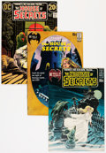 Bronze Age (1970-1979):Horror, House of Secrets Group (DC, 1970-74) Condition: Average VF+....(Total: 6 Comic Books)