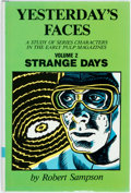 Books:Reference & Bibliography, Robert Sampson. Yesterday's Faces. A Study of Series Charactersin the Early Pulp Magazines. Bowling Green Universit...