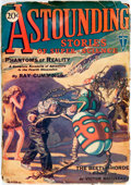 Books:Science Fiction & Fantasy, [Pulps]. Astounding Stories of Super-Science, Vol. 1, No. 1. January 1930. Publisher's printed wrappers. Toned, ...
