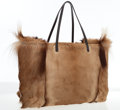 Luxury Accessories:Bags, Fendi Natural Springbok Fur Large Tote Bag. ...