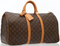 Luxury Accessories:Travel/Trunks, Louis Vuitton Classic Monogram Canvas Keepall 50 Weekend Bag. ...