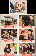 "Movie Posters:War, Operation Crossbow and Others Lot (MGM, 1965). Lobby Cards (7) (11""X 14""), Insert (14"" X 36""), Half Sheet (22"" X 28""), and ... (Total:10 Items)"
