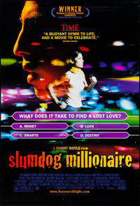 "Slumdog Millionaire and Others Lot (Warner Brothers, 2008). One Sheets (3) (27"" X 40"") SS. Drama. ... (Total:..."