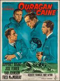 """Movie Posters:War, The Caine Mutiny (Columbia, 1954). French Grande (47"""" X 62.5"""")Style B. War.. ..."""