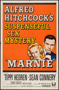 """Movie Posters:Hitchcock, Marnie (Universal, 1964). Autographed One Sheet (27"""" X 41"""").Hitchcock.. ..."""