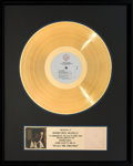Music Memorabilia:Awards, Randy Travis An Old Time Christmas RIAA Gold Hologram RecordAward (Warner Bros. 1-25972, 1989)....