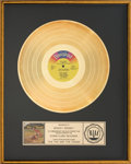Music Memorabilia:Awards, The Fox and the Hound RIAA Gold Record Award (Disneyland3823, 1981). ...