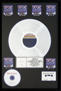 Music Memorabilia:Awards, The Big Chill (15th Anniversary) Soundtrack RIAAMulti-Platinum Hologram Sales Award (Motown 6062 ML, 1998)....