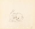 Animation Art:Production Drawing, Mickey's Elephant Mickey Mouse and Bobo the Elephant Animation Art Production Drawing Group (Walt Disney, 1936).... (Total: 2 Original Art)